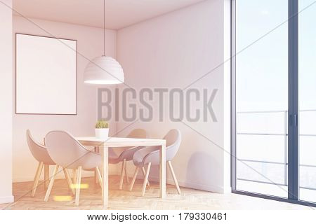 Corner Of A Kitchen With A Table, Toned