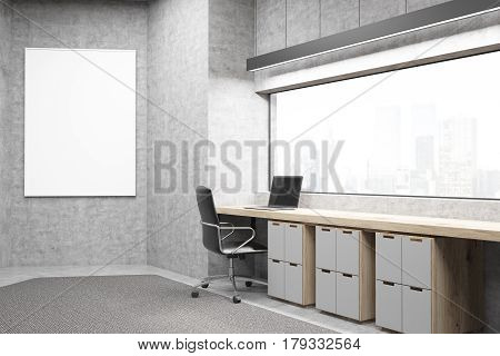 Office With Poster