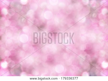 beautiful bright background of hazy pink bubbles