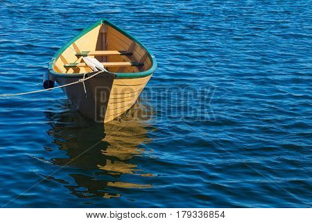 Traditional Atlantic Canadian rowboat or dory