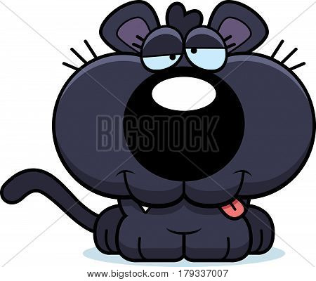 Cartoon Goofy Panther