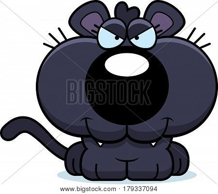 Cartoon Sly Panther