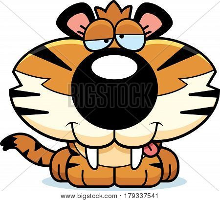 Goofy Saber-toothed Tiger