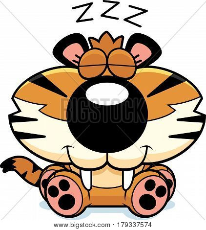 Saber-toothed Tiger Napping