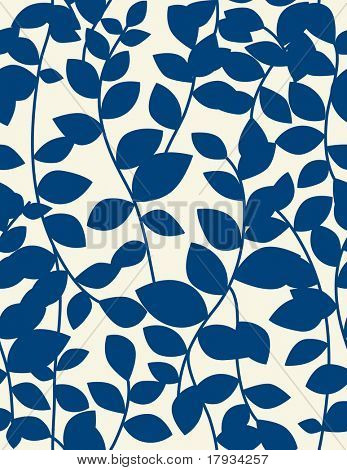 Vector Leaf Seamless Pattern