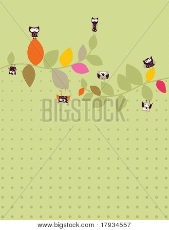 Vector Leafs and Owls