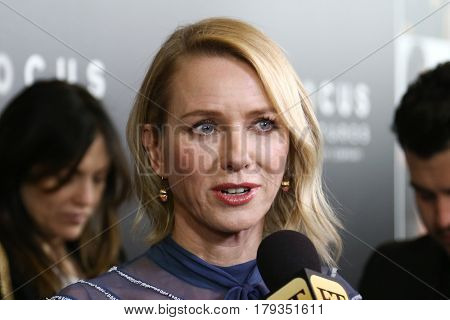 LAS VEGAS-MAR 29: Actress Naomi Watts attends the Focus Features presentation at Caesars Palace during CinemaCon on March 29, 2017 in Las Vegas, Nevada.