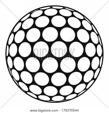 black white golf ball vector photo free trial bigstock