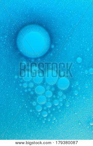 Abstarct Foam Bubbles