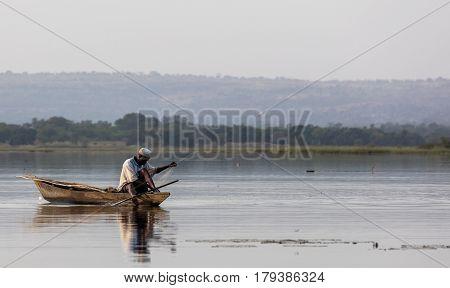 Lake Tengrela, Burkina Faso