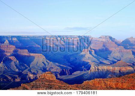 Amazing Sunrise Of The Grand Canyon