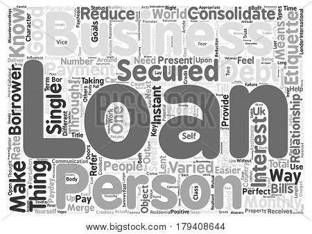 Business Etiquette text background word cloud concept