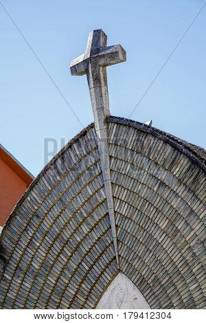 New Church of the Parish Assumption of Pont de Suert Catalonia Spain