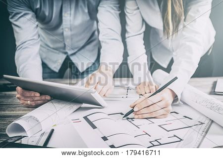 architects architect project interior design designer planning people architecture drawing business plan construction sketch house concept