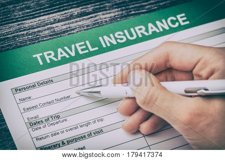travel agent safe plan trip holiday insurance money concept form business security paper transportation pass vacation policy concept