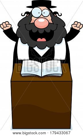 Cartoon Rabbi Sermon