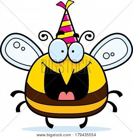 Cartoon Bee Birthday Party