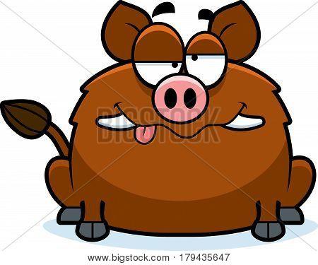 Drunk Little Boar