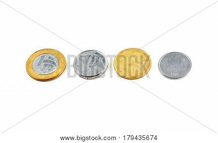 Brazilian Money: Real (reais) Currency Coins