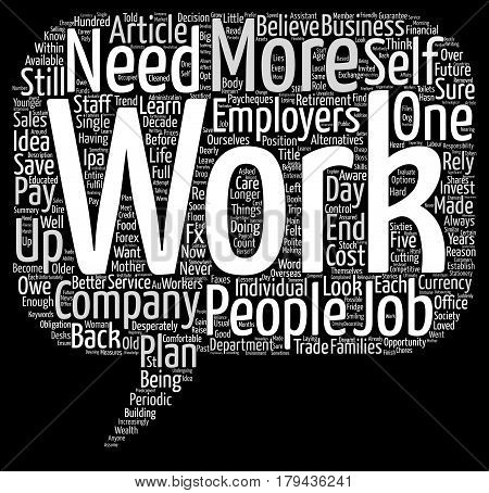 Do You Have A Back Up Plan text background word cloud concept