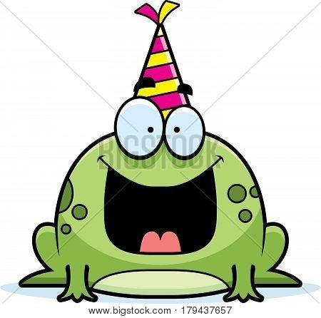 Cartoon Frog Birthday Party