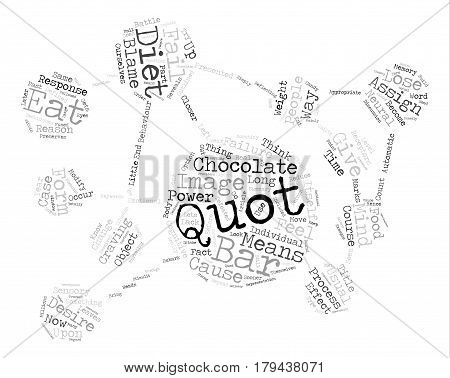 The Reason Diets Fail You Word Cloud Concept Text Background