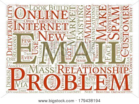 The Reasons You Need Email Deliverability text background word cloud concept