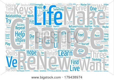Three Keys To Successful Change Word Cloud Concept Text Background