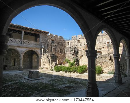 Adrada Castle, Avila, Castilla Y Leon, Spain