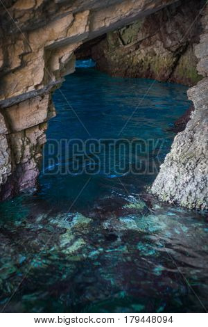 Blue Caves, Zakinthos, Greece