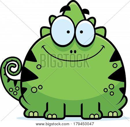 Smiling Little Lizard