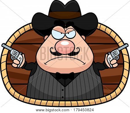 Cartoon Gunfighter
