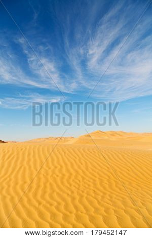 In Oman Old   Sand Dune