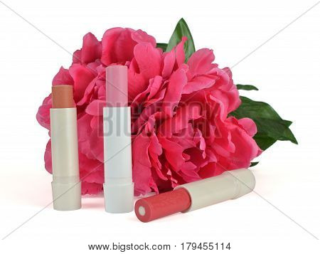 Lip Balm Sticks With Decoration