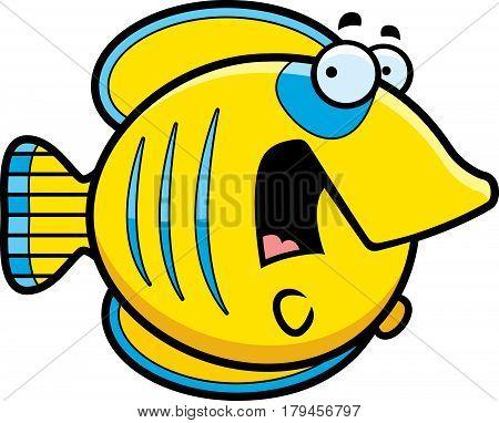 Scared Cartoon Butterflyfish