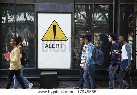 Alert Attention Caution Critical Danger Error