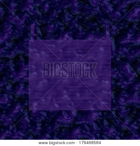 Guestbook on imitation blue water surface with ripples