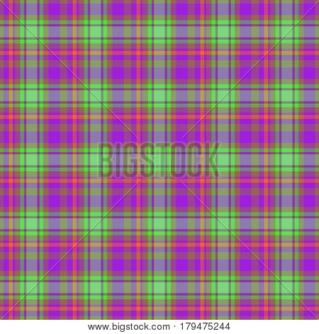 Green and purple fabric with texture suitable for a handkerchief