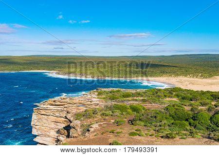 Beautiful View Of Ocean Beach Lagoon
