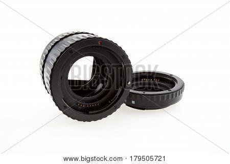 Ring Macro Extension Tube on white background