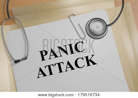 Panic Attack - Medical Concept