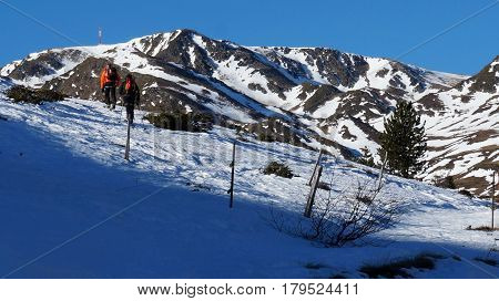 Ski In The Mountains Of Soldeu, Andorra