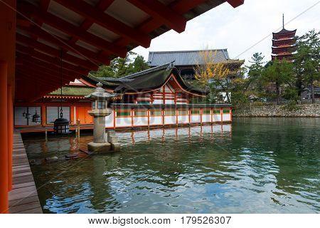Traditional Itsukushima Shrine