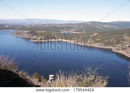 El Atazar Reservoir. Patones. Madrid's community. Spain