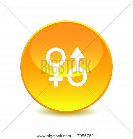 sex , sex icon on white background , Vector.
