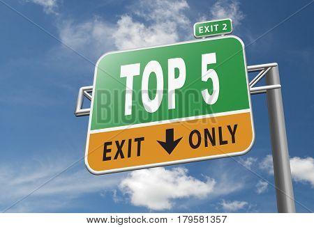 Top 5 Chart