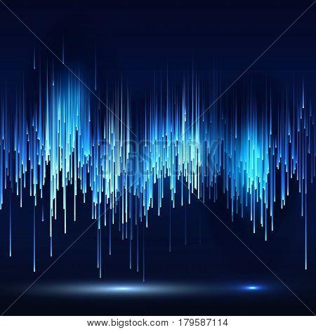 Sci-fi Abstract Matrix Futuristic Technology Background illustration