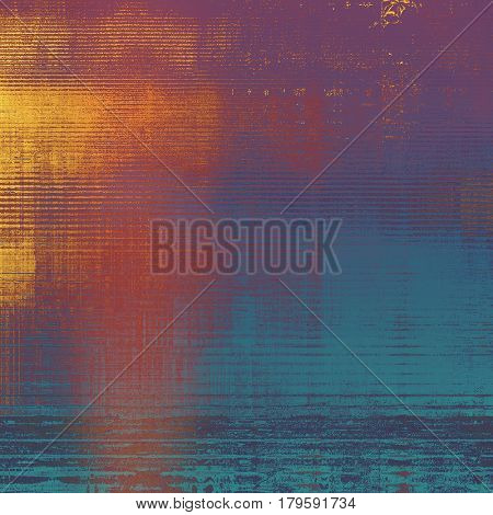 Retro design composition, grunge background or textured backdrop. With different color patterns: yellow (beige); brown; blue; red (orange); purple (violet); pink