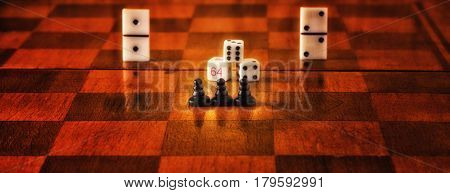 A very popular hobby around the world is table games chess and domino dice these games develop logical thinking and it's just fun to play in them