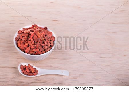 Goji Berries Or Wolfberry Traditional Asian Remedy To Improve Eyesight
